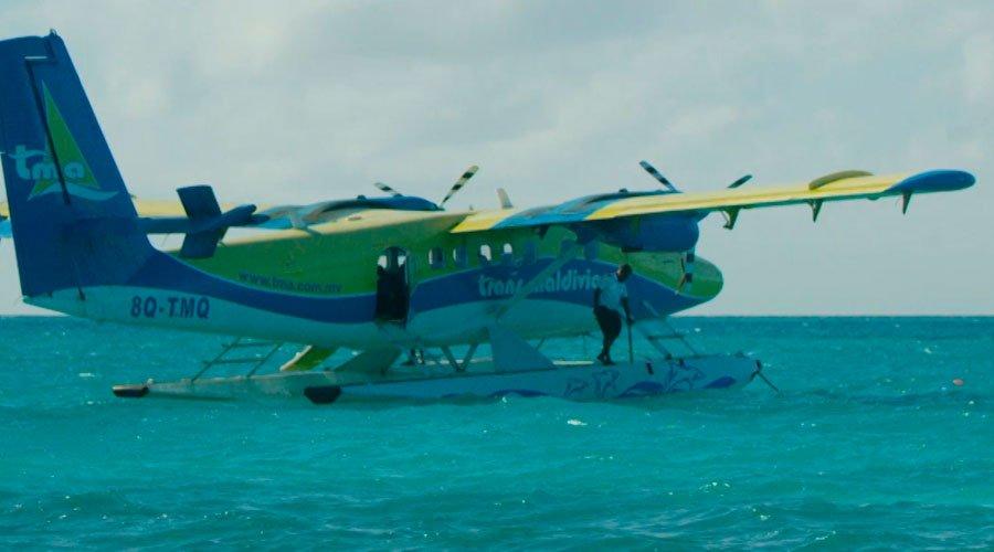 LUX* Grand Gaube Sea plane